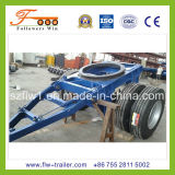 28feet 3axle Flatbed Draw Bar Trailer
