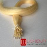 良質のNanoリングの前に担保付きの人間の毛髪の拡張