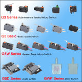BASIC Dpdt Micro Switch di OEM&ODM con Straight Lever