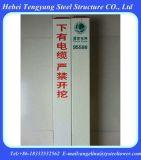 FRP di plastica di rinforzo fibra di vetro firma il mucchio