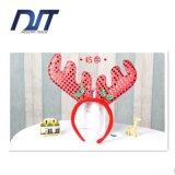 I capelli dei Antlers dei Sequins di natale legano il copricapo del partito del regalo di natale