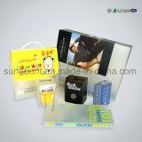 Boîte d'emballage en plastique de PVC de fantaisie avec suspension Réfinition de vos produits