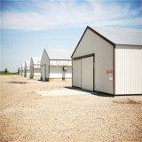 Fabrizierte Stahlmetallpole-Gebäude mit preiswertem Preis