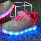 2016 Hot vente le plus bas prix usine Casual Shoes LED pour enfants populaire bon marché Chaussures Mode