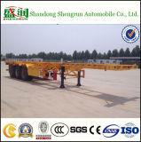 Cimc de Flexibele Skeletachtige Semi Verkoop van de Aanhangwagen van het Skelet van de Container van de Aanhangwagen 20FT 40FT in Pakistan