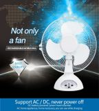 nachladbarer aufladenventilator des 16iinches Tischventilator-AC/DC