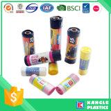 Sac d'ordures de couleur de LDPE de HDPE de prix usine