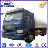 2016 caminhão de venda quente do depósito de gasolina do petróleo do tipo de 20cbm 6silos 6*4 Sinotruck a preço razoável