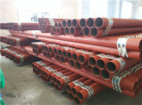 塗られた電流を通されたERWの消火活動鋼管