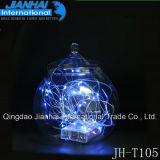 Вися шарик кристаллический стеклоизделия стеклянный для подарка венчания