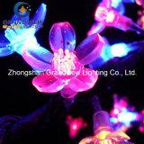 Éclairages LED roses artificiels extérieurs de cerisier