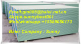 Водоустойчивая доска гипса гипсолита Drywall для потолка и огораживает 9mm 12mm