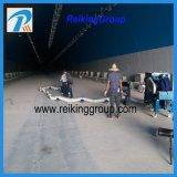 Bewegliche Flexbile Flughafen-Zeile Reinigungs-Granaliengebläse-Maschine