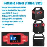 De draagbare Generator van de Omschakelaar van de Levering van de Macht met Batterij
