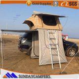 贅沢なオフロード多キャンバスファブリック車の屋根のテント