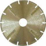 大理石のための連続的な縁の電気版の刃
