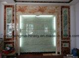 Chaîne de production d'imitation colorée en plastique de panneau de PVC de marbre