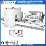 Simens PLC Control Toilet Hand Towel Manufacturing Machinery com dispositivo de laminação de gravura a laser
