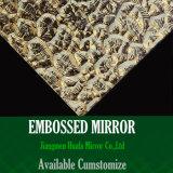 Espejo de cristal Tempered grabado del azulejo del espejo de la gafa de seguridad del azulejo decorativo del espejo