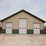 Edificios acanalados de la estructura de acero (DG3-046)