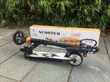 Ein Naben-Motor 24V 100W 120W 150W der hellster Falz-elektrische Roller mit Cer-anerkannter Batterie und Aufladeeinheit