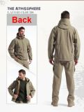 Защитная одежда напольной армии людей Hotsale воинская охотясь водоустойчивые куртки Hoodie