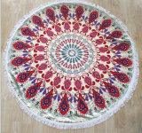 toalla de playa circular multiusos de la mandala del diámetro del 150cm