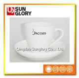 Изготовленный на заказ логос усиливает чашку комплектов кофеего фарфора керамическую Bd014