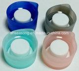 Doppelte Überwurfmutter/Plastikflaschenkapsel/Silikon-Kappe (SS4310)