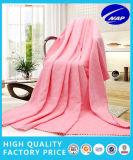 Coperta 100% di colore solido della cialda del jacquard di fantasia del cotone