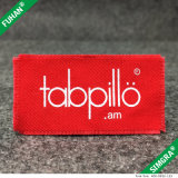 Vestuário personalizado Custom Print Cotton Tassels Labels
