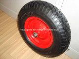 145/70-6 편평한 자유로운 PU 거품 바퀴
