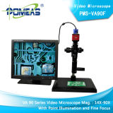 Microscópio video de alta resolução para a inspeção ótica