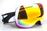 交換可能なレンズが付いている紫外線保護安全ガラスのスキーゴーグル
