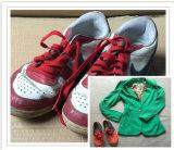 Ботинки второй руки сезона лета смешанные используемые