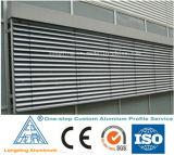 Perfil da liga de alumínio para a porta de alumínio do alumínio do indicador do obturador