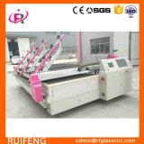 Машинное оборудование CNC использовано для стеклянного вырезывания
