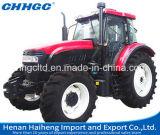 Ruota motrice del trattore 130HP della rotella, cilindro 6 con il trattore agricolo del motore diesel