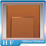 Bronzespiegel-Glas für Hauptfarbigen Bronzespiegel der dekoration-2134mm*3300mm C001