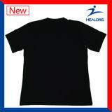 Тенниски людей печати цвета черноты износа спортов молодости Silk