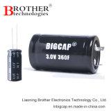 Super Condensator van de Hoogspanning van het Product van Bigcap de Nieuwe 3.0V 5.0f