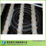 Vidrio Tempered redondo de la cortina de lámpara de seguridad de China con el orificio Drilling