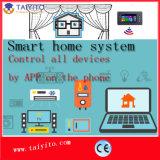 モービルハウスのセキュリティシステムのための無線情報処理機能をもったホームシステム