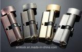 Fechamento de cilindro de bronze, fechamento de cilindro da porta, fechamento de cilindro Al-60-70-80-90 da tecla