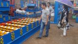 Het gekleurde Comité dat van het Dakwerk van het Staal Machines vormt