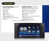 6.2inch車DVDのマルチメディアプレイヤーの倍DINの受信機