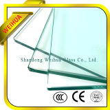 Structure et Flat pleins Shape Clear Tempered Glass pour Door Panel