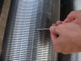 Pantalla de filtro continua de Johnson de la ranura de Od12inch con el acoplamiento de las cuerdas de rosca
