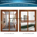 Puerta deslizante colgante del aluminio para la yarda y balcón y patio