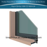 Casement de alumínio Windows com projeto o mais novo e cor nova